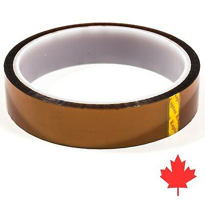 Kapton Tape - 20 Mm X 33 Meter - Heat Resistant Polyimide Tape High Temperature