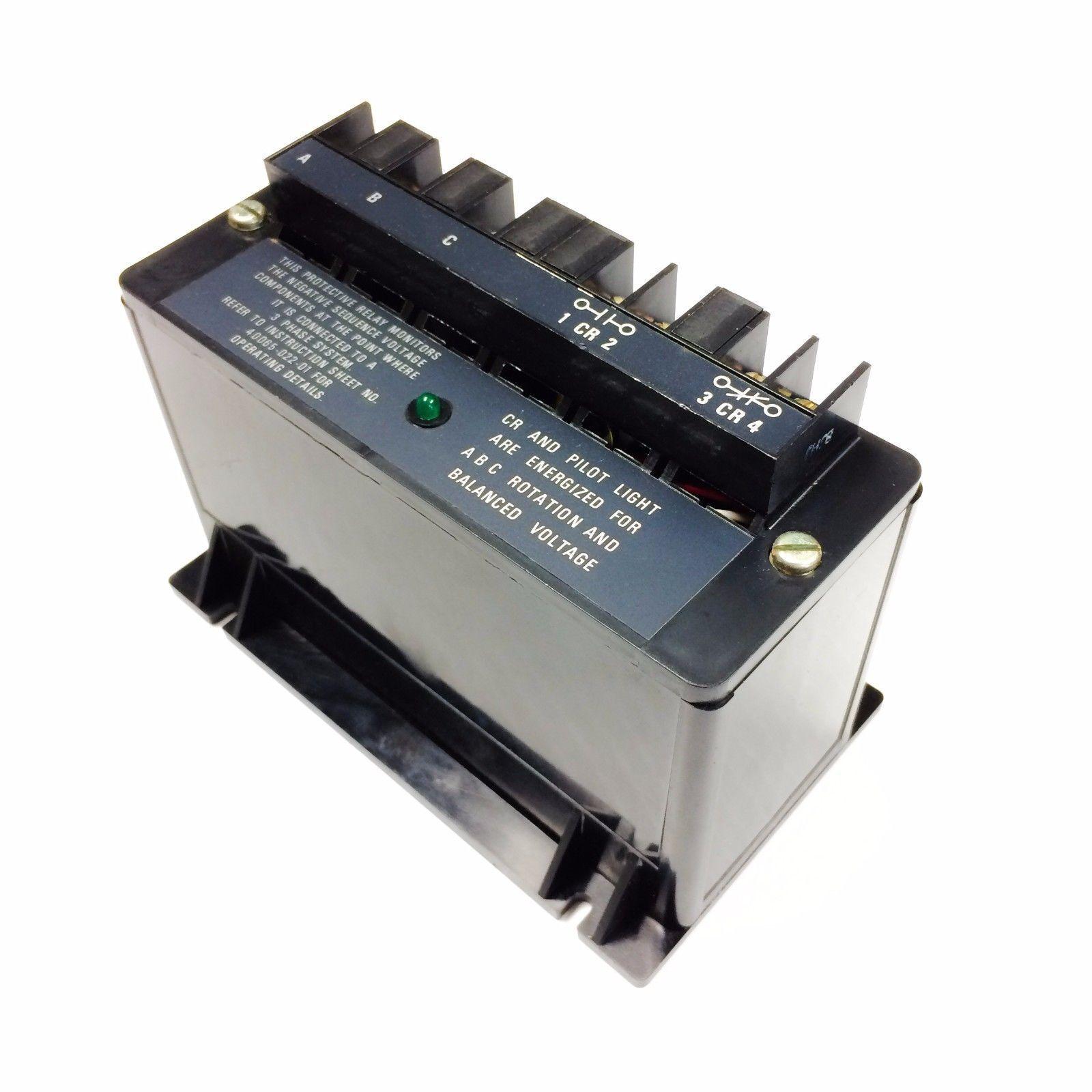 Allen Bradley 813s Vob Bulletin Line Voltage Monitor Relay Ebay Coil Pickup Stock Photo