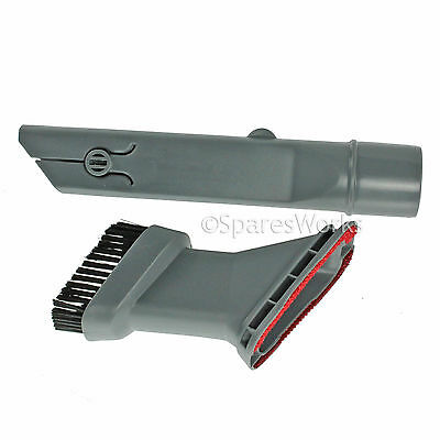 3 in 1 Crevice Tool Upholstery & Brush Nozzle for Asda Vacuum Hoover 32mm
