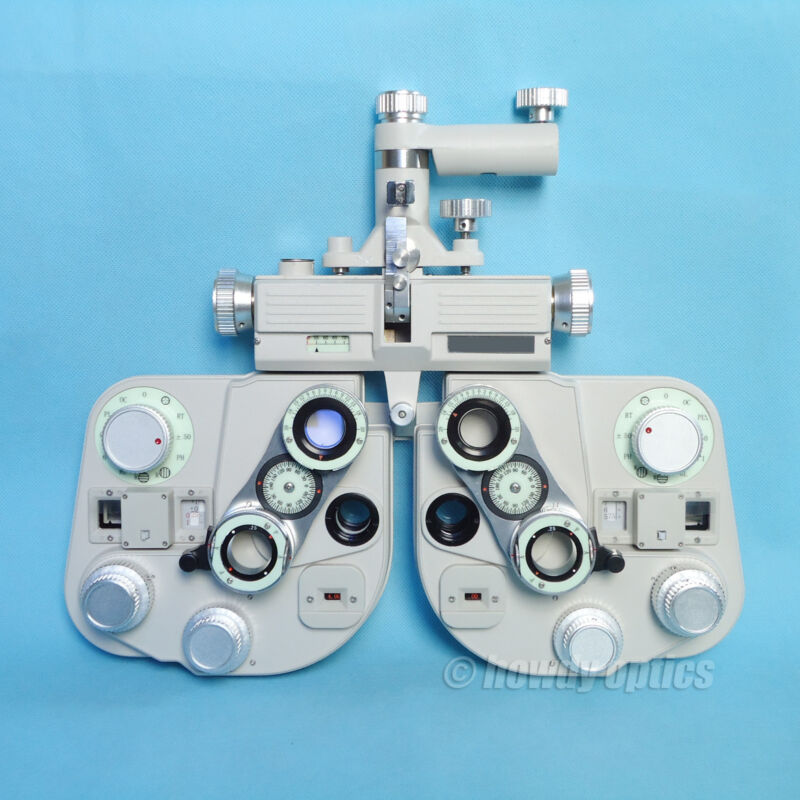 Manual phoropter with light Optical view tester Refractor New