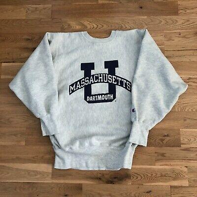 Vintage 90's Dartmouth University Champion Reverse Weave Crewneck Sweater Medium