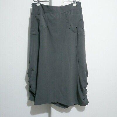 - gr.dano draped bubble skirt sz 10Waist lay flat 18