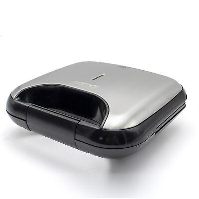 Sandwichera eléctrica para 2 sandwiches en triángulo Acero Inoxidable 750W MPM