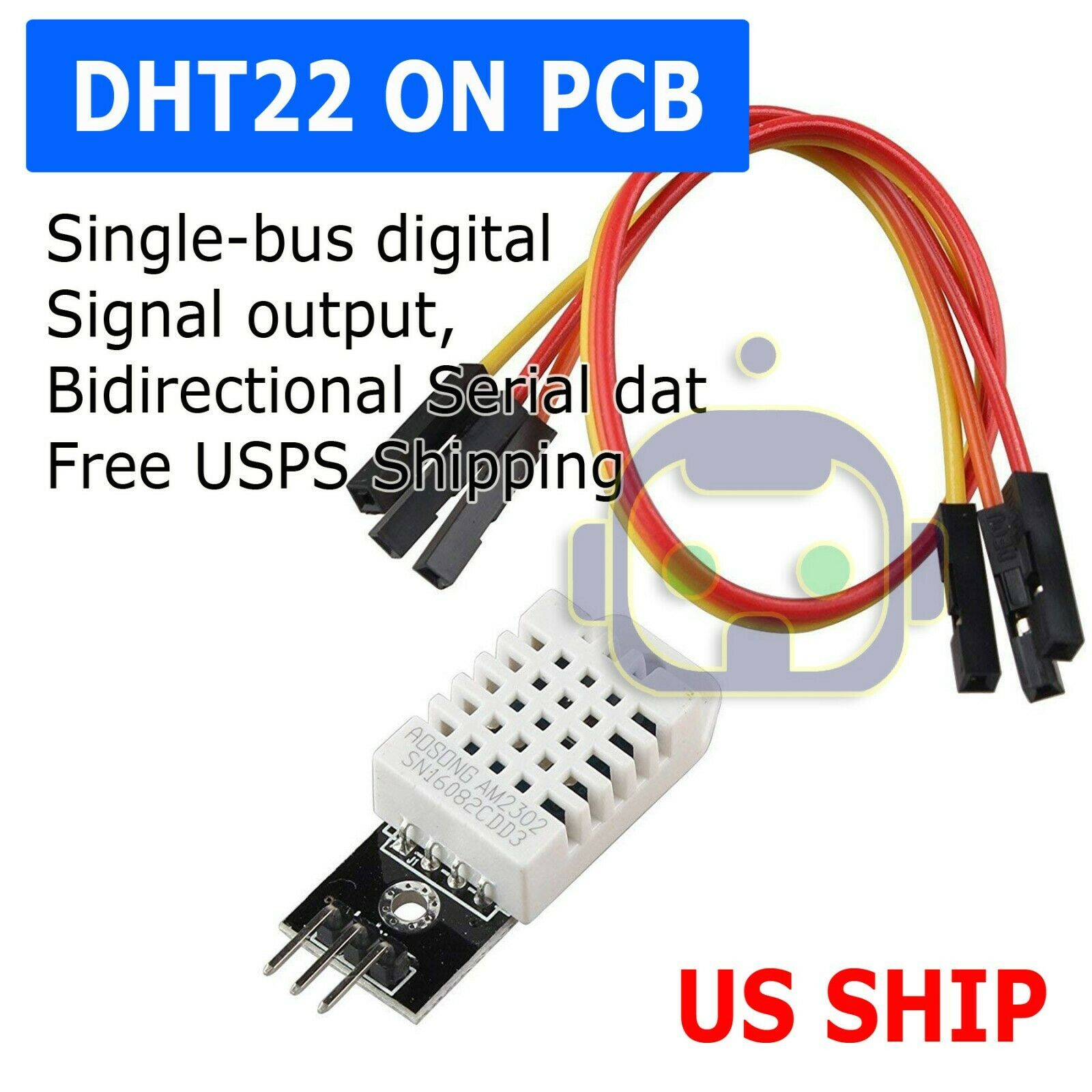 1pcs DHT22 Digital Temperature Humidity Sensor AM2302 Measur