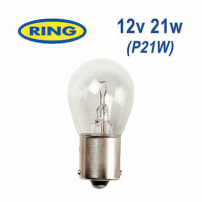 RING 12v 21w P21W BA15s Brake LightReverse LightIndicatorRear Fog Bulb RB382