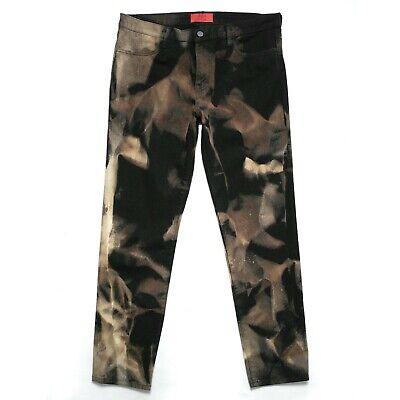 $424 NEW 424 ON FAIRFAX x ARMES Bleached Black Denim Jeans Pants fourtwofour