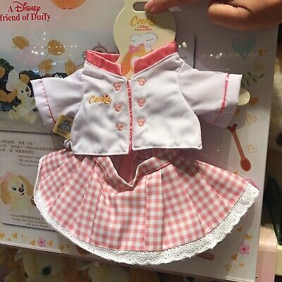 HKDL Hong Kong Disney Duffy's New Friend Cookies Costume Outfit Clothes