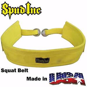 Image result for spud squat belt yellow