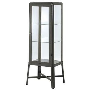 Black Gl Display Cabinet