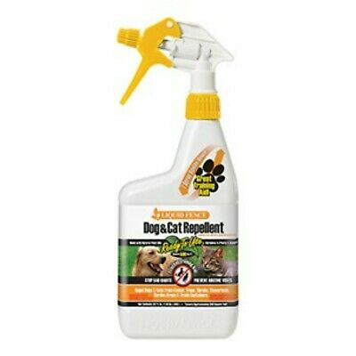 Liquid Fence Dog & Cat Repellent Ready-to-Use Natural Training Aid Eco 32-Ounce ()