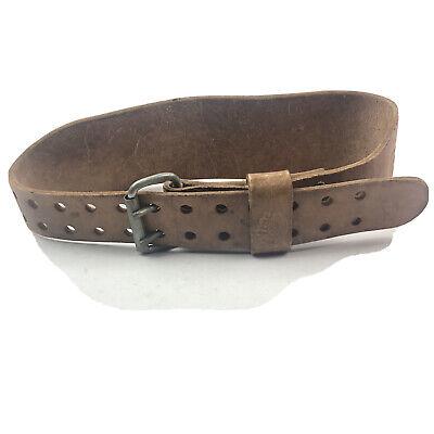 Belts - Vintage Leather Weight Lifting Belt