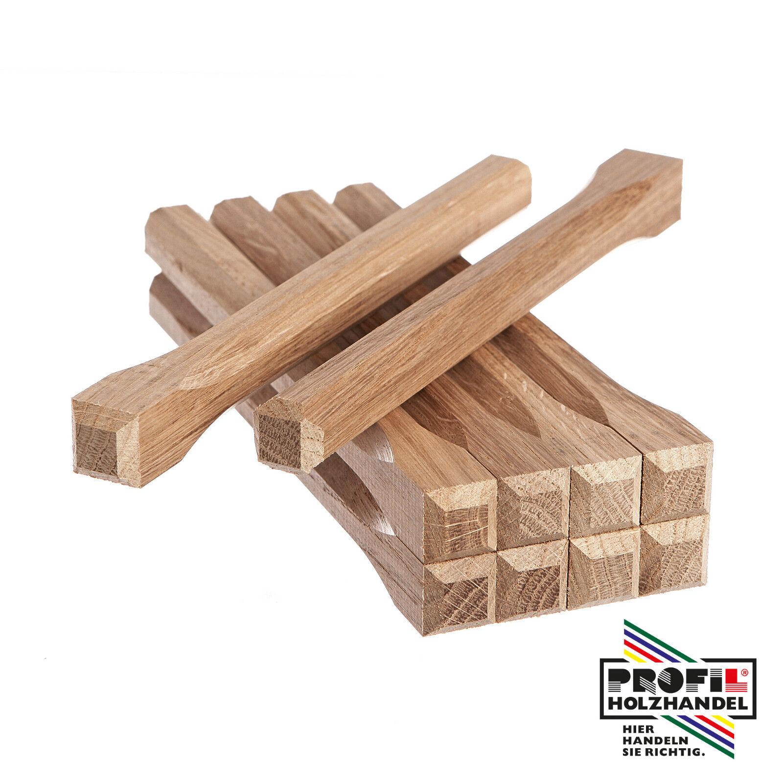 25 x Fachwerknägel Eiche 18x80-300mm Dollen Holznägel
