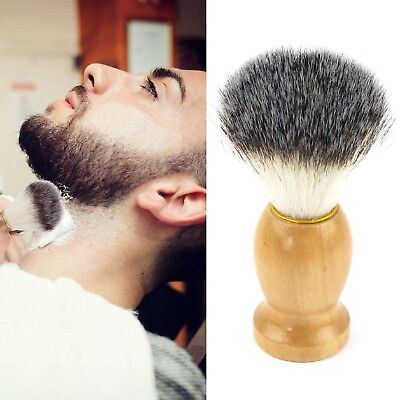 Pure Badgers Hair Removal Beard Shaving Brush For Mens Shave Tools Cosmetic Tool for sale  Shipping to India