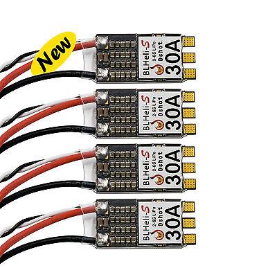4x30A Brushless HLW Blheli-S ESC 2-6s LiPo  For FPV Drone  QAV250 200 Quadcopter