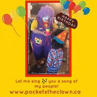 Need face painting, balloons & Magic Show?  Birthday party fun!
