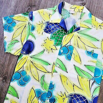 1970s Men's Shirt Styles – Vintage 70s Shirts for Guys Vintage 70s Flair California Hawaiian Camp Shirt Vtg 1970s Retro Tropical USA L $38.61 AT vintagedancer.com