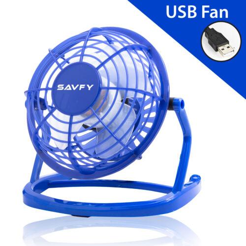 Mini Portable Usb Fan Quiet Desktop Desk Silent Cooling For Laptop Pc Uk