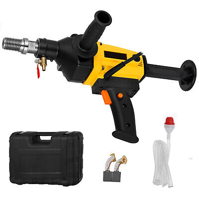 Vevor 4.3 110mm Wet Dry Hand Held Core Drill Rig For Diamond Bits 1880w
