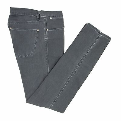 Acne Studios Max Darko Grey Denim 5-Pocket Slim Straight Jeans 30W