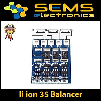 2S 3S Li-ion Board 18650 Balancer für BMS  PCB Battery Protection 4.2V 12.6V