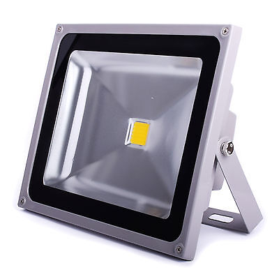 50W LED Flood light Cool White Outdoor ...