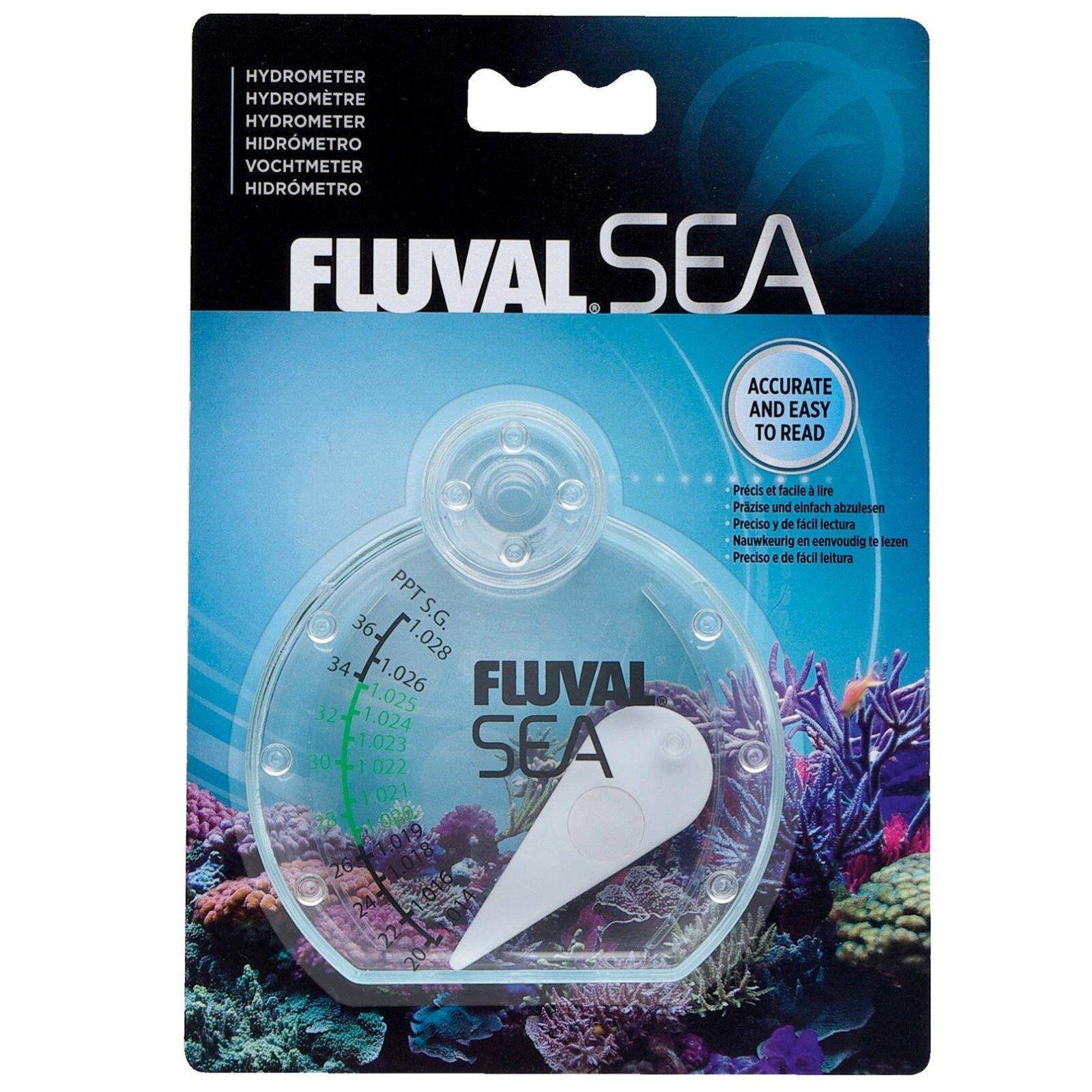 Hydrometer für Seewasser / Meerwasseraquarien - Salzgehalt,  Fluval SEA 14356
