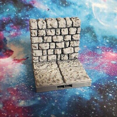 20 Fat Dragon Games Dragonlock Dungeon Wall Piece Gaming Terrain 3D Printed](Dungeon Wall)