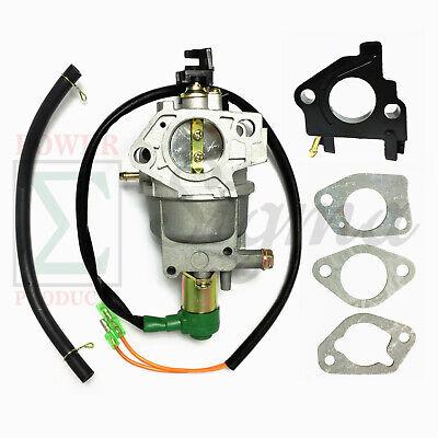 Auto Choke Carburetor For Powermate 65008125 50006250 60007500 Watt Generator