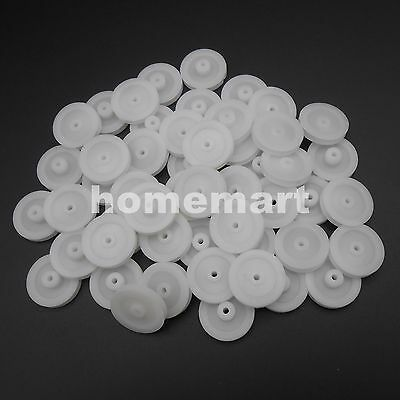 10-1000pcs Plastic Pulley Gear Model Motor Wheels Dia.18mm Shaft Dia.2mm 1.95mm