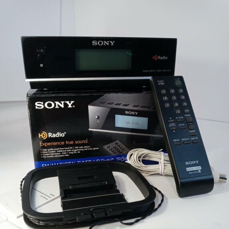 Sony Xdr F1 HD FM AM Digital Tuner HD Radio With Remote