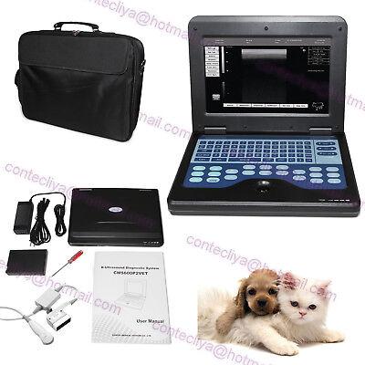 Usa Portable Veterinary Ultrasound Scanner Laptop Machinevet Micro-convex Probe