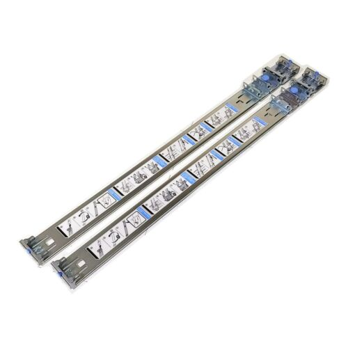 Dell PowerEdge R210 R220 2 / 4 Post Rack Mount Rails 6KM6G 0YNG10 (Outer Rails)
