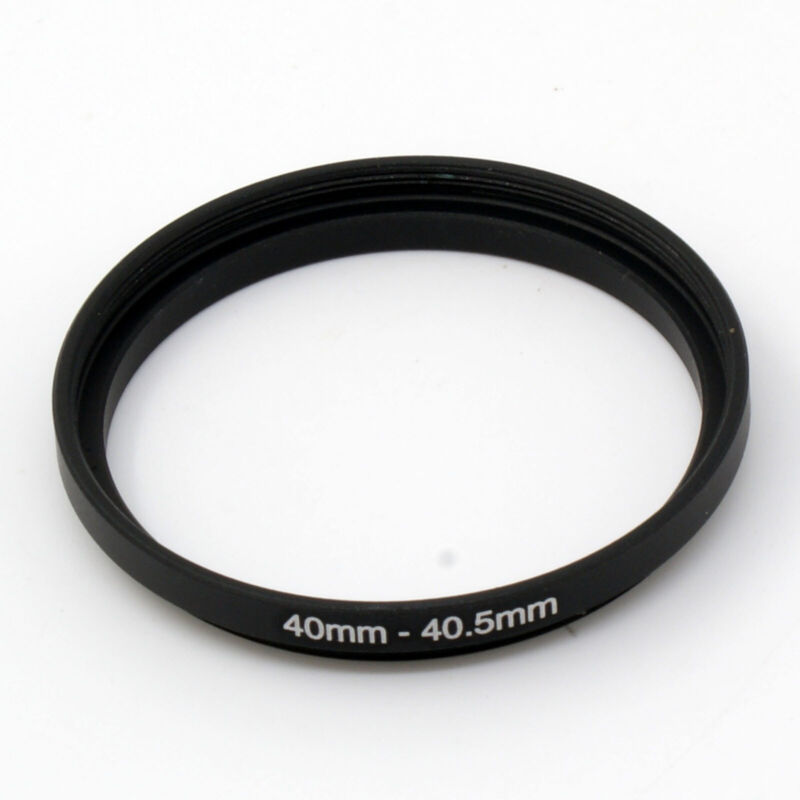40-40.5 40mm-40.5mm Step up Filter Ring 40mm Male to 40.5mm Female Lens adapter