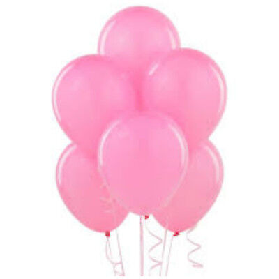 WHOLESALE Pink BALLOONS Latex BULK PRICE JOBLOT Quality Any Occasion BALLON