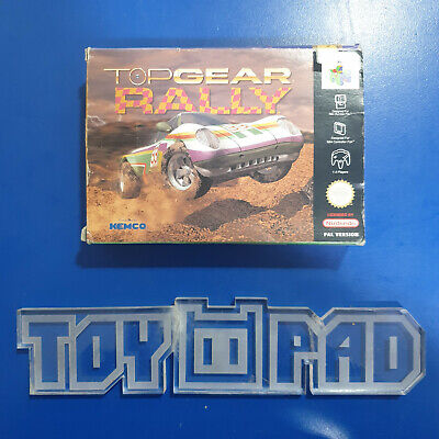 Top Gear Rally - version française FRA PAL - Nintendo 64 N64