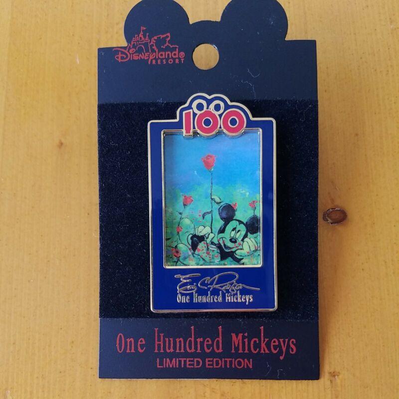 One Hundred Mickeys Pin Series MM 080 LE 3500 Disney Disneyland Mickey VHTF