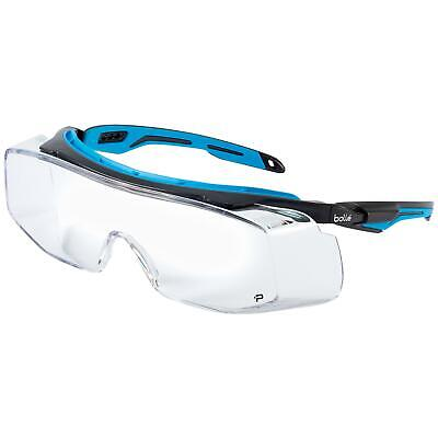 Bolle Tryon Otg Safety Glasses With Clear Anti-fog Lens