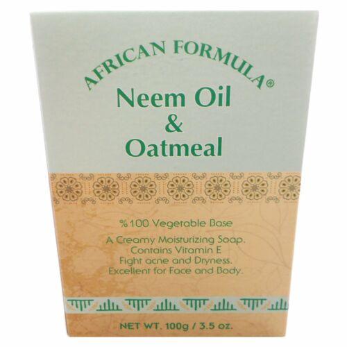 soap neem oil and oatmeal or jojoba