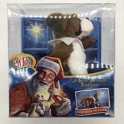 The Elf on the Shelf - Elf Pets A Saint Bernard Tradition by Chanda A. Bell, NEW