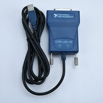 Used National Instrumens Ni Gpib-usb-hs Interface Adapter Controller Ieee 488