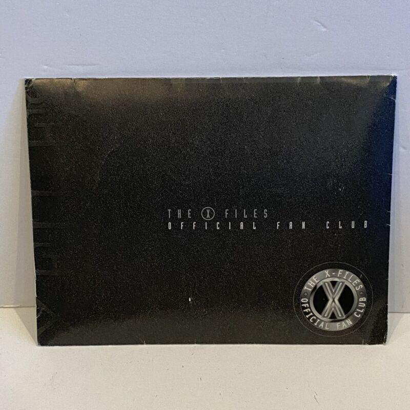 VTG THE X FILES Official Fan Club Membership Kit 1999-2000 4x 8x10 Photos & More