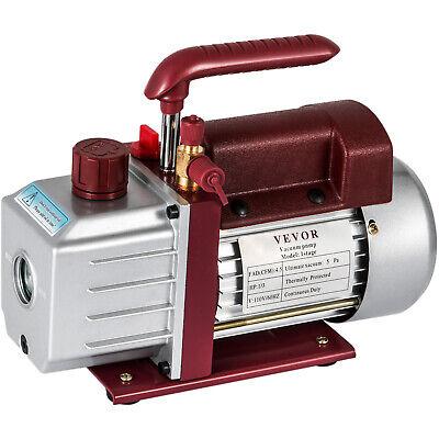 4.5cfm Single-stage Rotary Vacuum Pump Wine Degassing Hvacauto Ac 4.5cfm 13hp