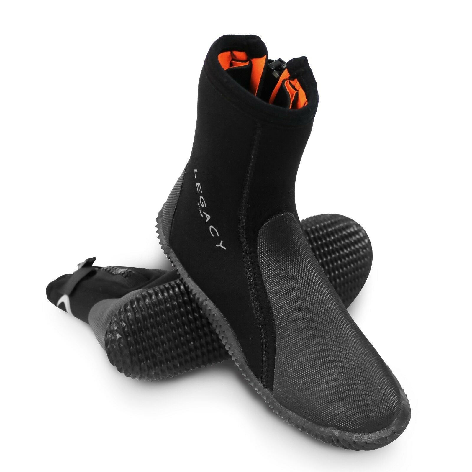 Legacy 2019 5mm Wetsuit Boots Amp Zip Watersports Shoe Surf