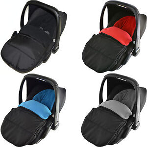 car seat footmuff compatible with maxi cosi pebble newborn cosy toes ebay. Black Bedroom Furniture Sets. Home Design Ideas