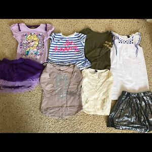 SOLD 5T small lot - tops, skirts, dress.