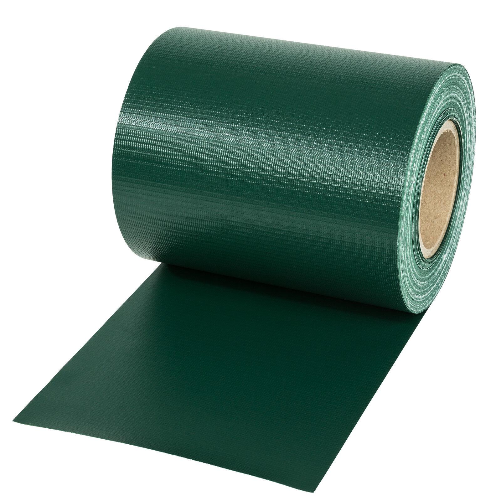 pvc sichtschutz streifen sichtschutzfolie doppelstabmatten schutz zaun 35m gr n eur 19 89. Black Bedroom Furniture Sets. Home Design Ideas