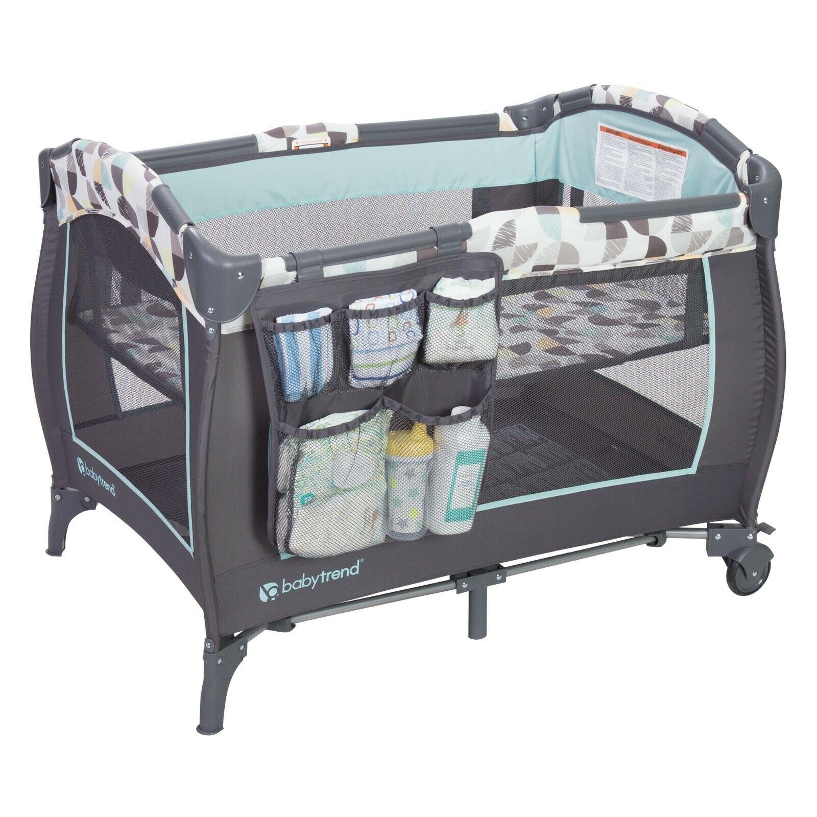 trend nursery center playard bassinet playpen sleeper