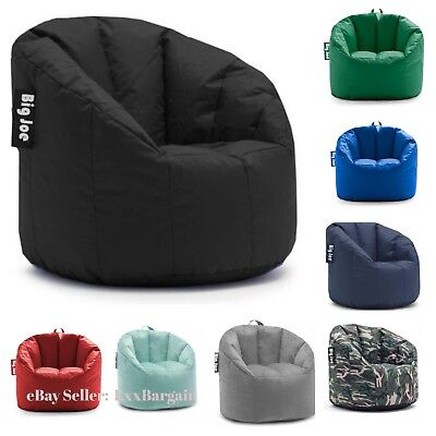 Big Joe Milano Bean Bag Chair Multiple Colors Available Comfort For Kids (Polyester Bean Bag Chair)