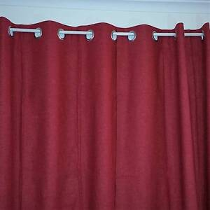 A pairs of 100% Blockout Curtains 3Layers Eyelet PU Coated Fabric Hillcrest Logan Area Preview