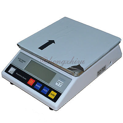 10kg x 1g Electronic Accurate Industrial Weighing Balance Scale w Counting